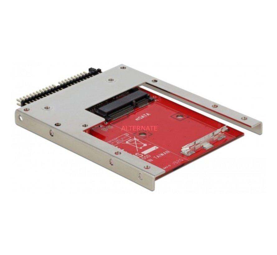 DeLOCK 62495 interfacekaart/-adapter Intern mSATA