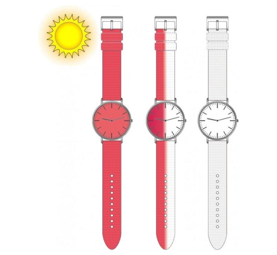 Horloge Chameleon UV CLR roze