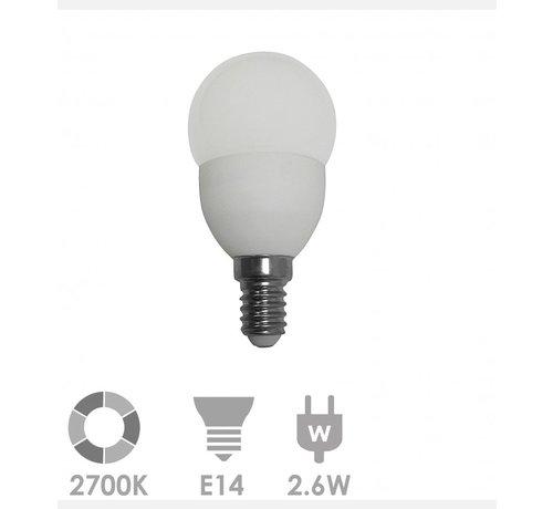 Prolumia Prolumia Kogellamp led-lamp e14 bol 2700K - 40931350 - 10 stuks verpakking