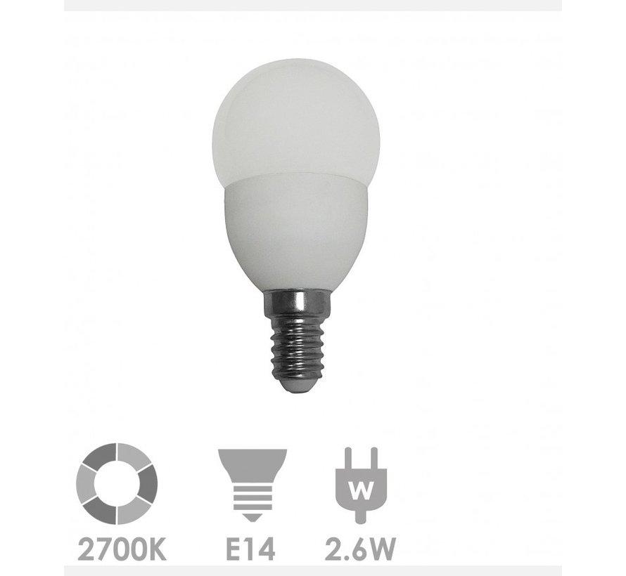 Prolumia Kogellamp led-lamp e14 bol 2700K - 40931350 - 10 stuks verpakking