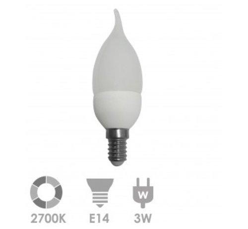 Prolumia Prolumia KAARS TIP LED-lamp E14 Kaars 2700K 40931400 10 stuks verpakking