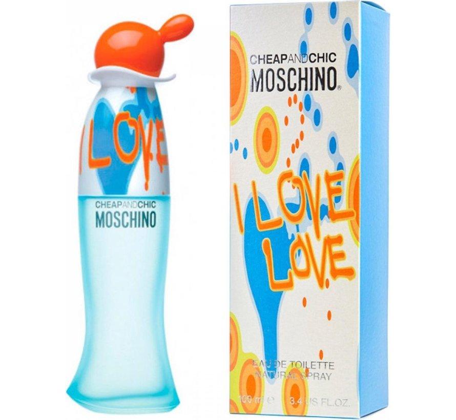 Moschino I Love Love - 50ML - Eau de toilette