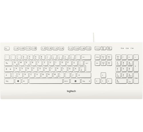 Logitech Logitech K280e toetsenbord USB QWERTZ Duits Wit