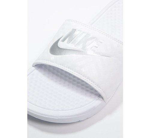 Nike Nike Women's Benassi Just do It Wit/Zilver
