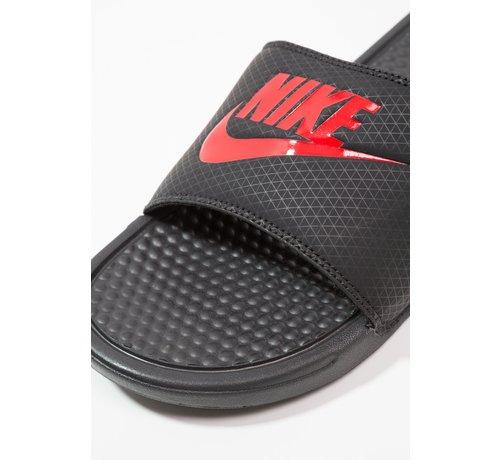 Nike Nike Men's Benassi Just do It Zwart/Rood