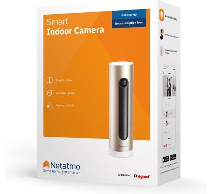 Netatmo Welcome - Indoor IP-beveiligingscamera Thuiscamera met gezichtsherkenning