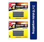 Toshiba LR03GCP BP10MS4FCN High Power Wegwerpbatterij AAA Alkaline 20 stuks (verpakking 2 x 10 stuks)