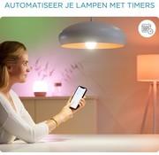 WiZ WiZ LED Lamp Slimme LED Verlichting - Gekleurd en Wit Licht - E27 - 60W - Mat - Wi-Fi - 2 stuks