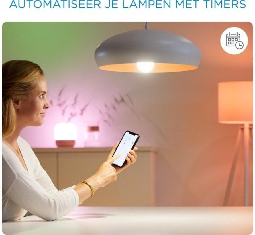 WiZ Spot Slimme LED Verlichting - Gekleurd en Wit Licht - GU10 - 50W - Wi-Fi