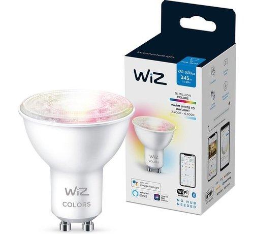 WiZ WiZ Spot Slimme LED Verlichting - Gekleurd en Wit Licht - GU10 - 50W - Wi-Fi