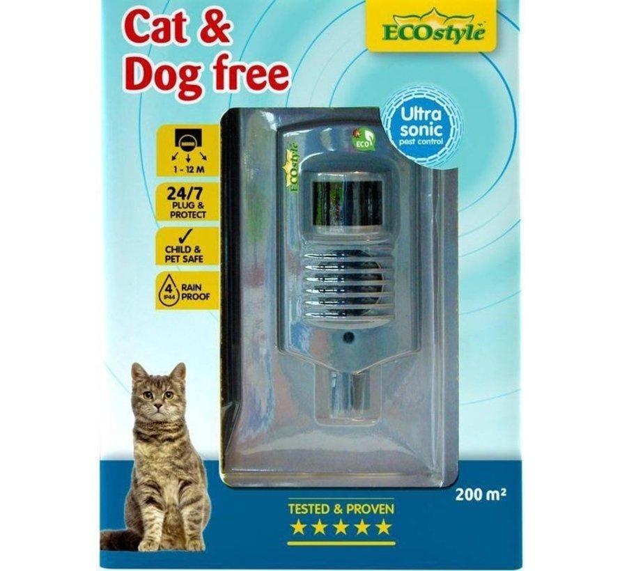 Ecostyle Cat & Dog Free 200 - Afweermiddel - 200 m2