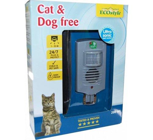 ECOstyle Ecostyle Cat & Dog Free 200 - Afweermiddel - 200 m2