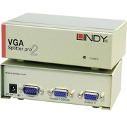 Lindy LINDY 32571 VGA Splitter PRO, 2 poorten.