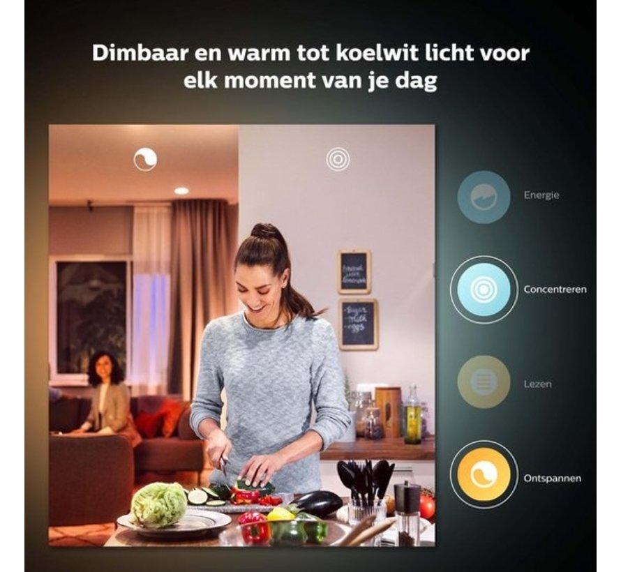 Philips Hue Slimme verlichting Lichtbron - White Ambiance - E27 - Bluetooth - 2 Stuks