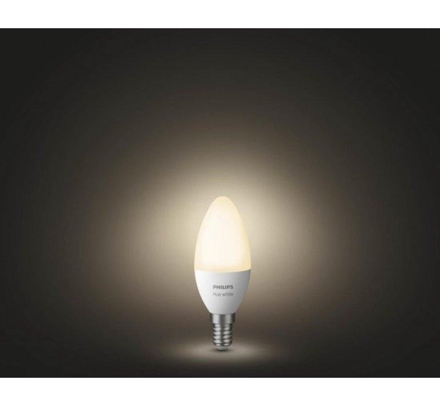 Philips Hue Slimme verlichting Kaarslamp - White - E14 - Bluetooth - 2 Stuks