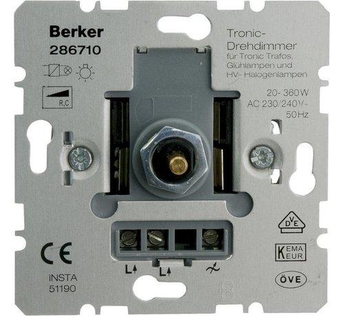 Berker Berker Dimmer Inbouw 360W Tronic Druk-Wissel Element