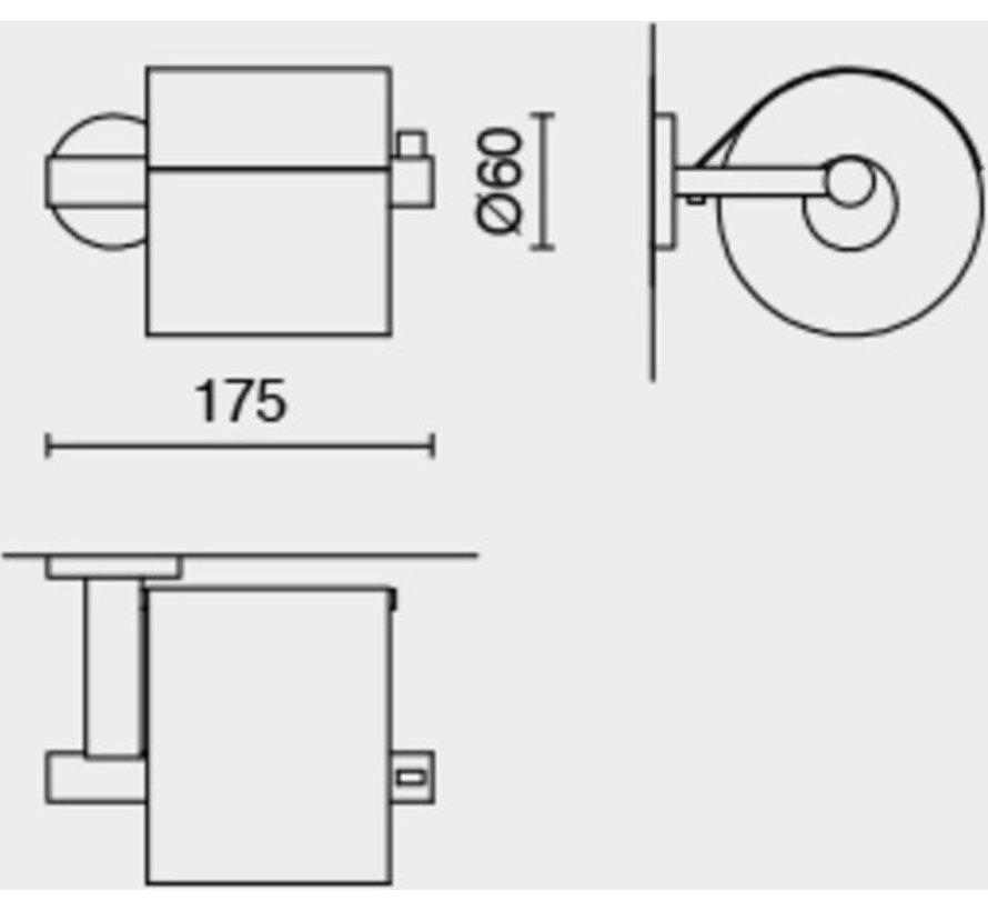 ZACK Scala - Toiletrolhouder - Roestvrij Staal