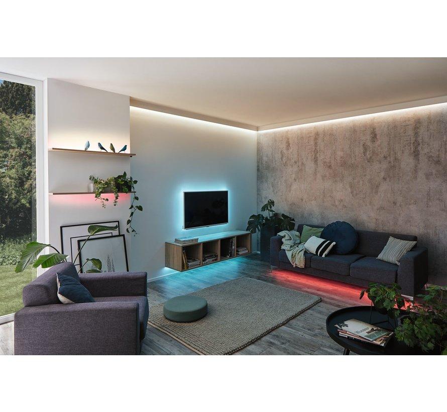 Paulmann MaxLED 250 RGBW basisset ongecoat 3m 20 W met kleurveranderingsfunctie
