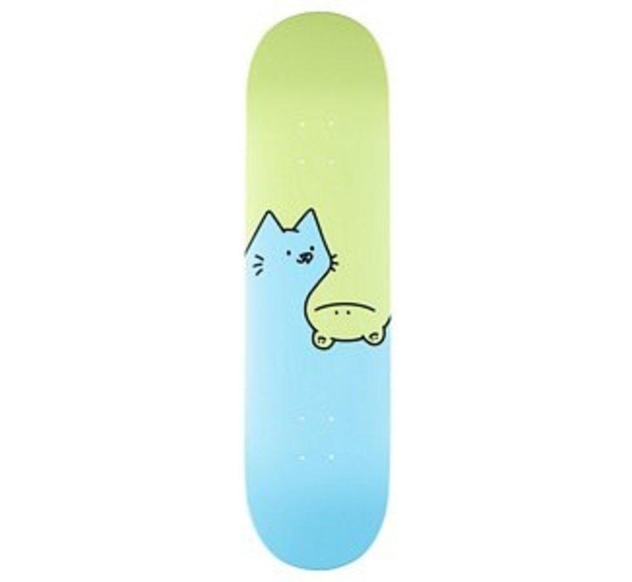 Leon Karssen Double Deck Green/Blueer Skateboard Deck Green/Blue 8.0