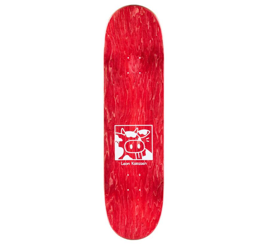 Leon Karssen Scowtboard Skateboard Deck Black/Multi 8.5