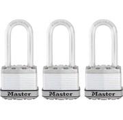 MasterLock MasterLock 3x Weersbestendig Excell hangslot 45mm M1EURTRILH