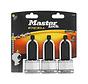 MasterLock 3x Weersbestendig Excell hangslot 45mm M1EURTRILH