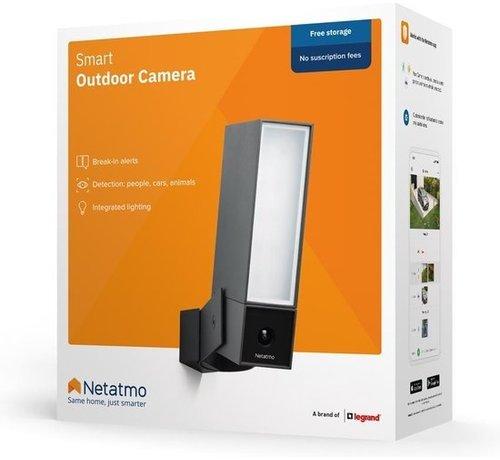Netatmo Netatmo Presence - Outdoor IP-camera - Zwart