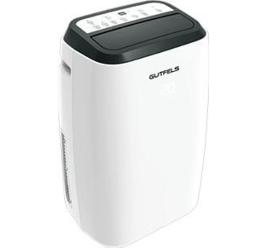 Gutfels mobiele airconditioner CM 61249 WE 12000BTU Wit