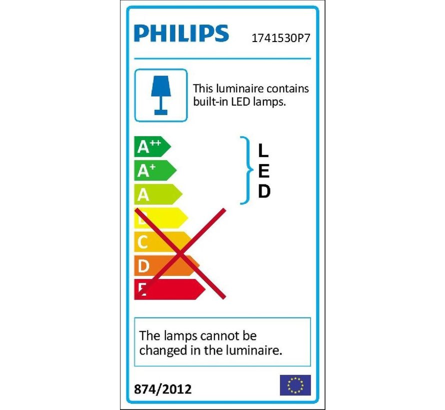 Philips Hue Lily tuinspot - White and Color Ambiance - 1-lichts - uitbreidingsset - Buiten
