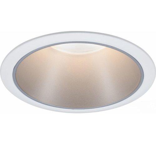 Paulmann Paulmann 93409 Inbouwlamp 6.50 W Warm wit Wit, Zilver