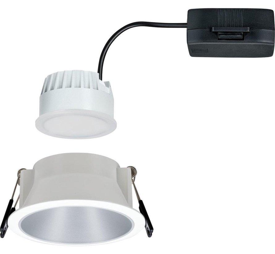 Paulmann 93409 Inbouwlamp 6.50 W Warm wit Wit, Zilver