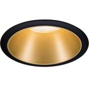Paulmann Paulmann 93403 Inbouwlamp 6.50 W Warmwit Zwart, Goud