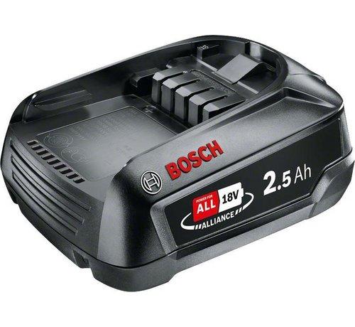 Bosch Bosch Lithium-Ion accu / batterij - 18 Volt - 2,5 Ah