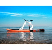 Red Shark Bikes Waterfiets Sup-fiets Red Shark Bike model Enjoy