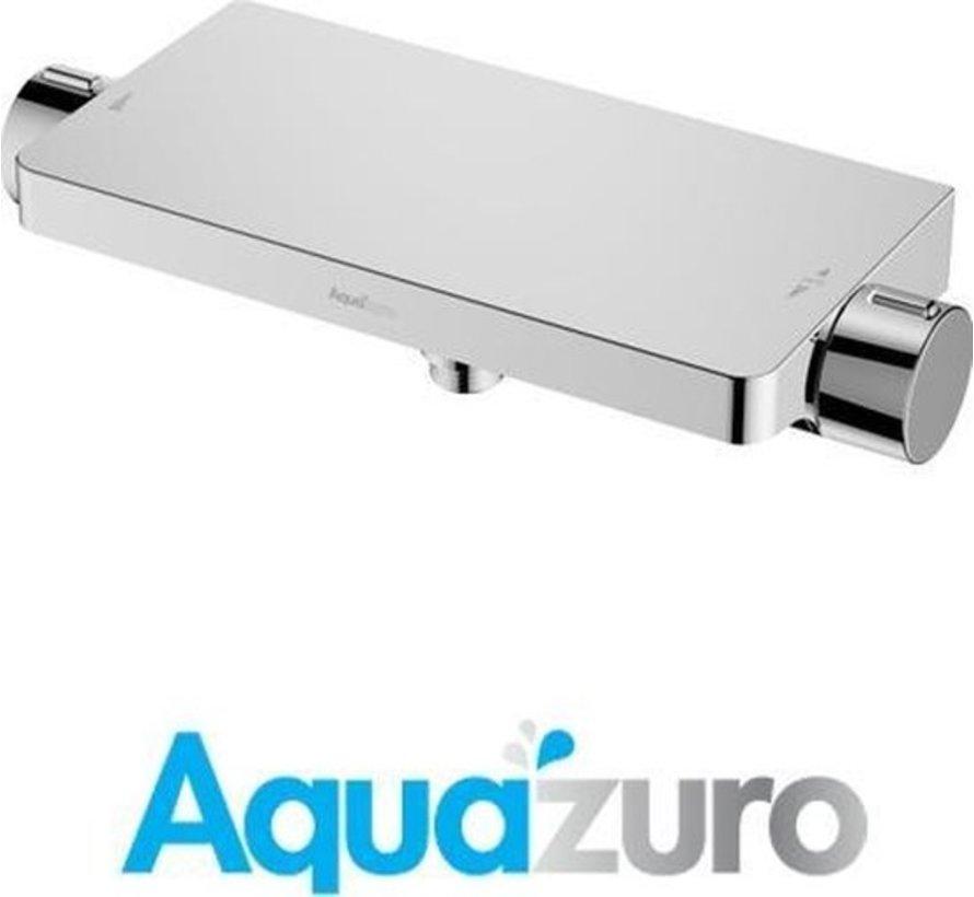 Aquazuro thermostatische douchekraan Urbino chroom 15 cm