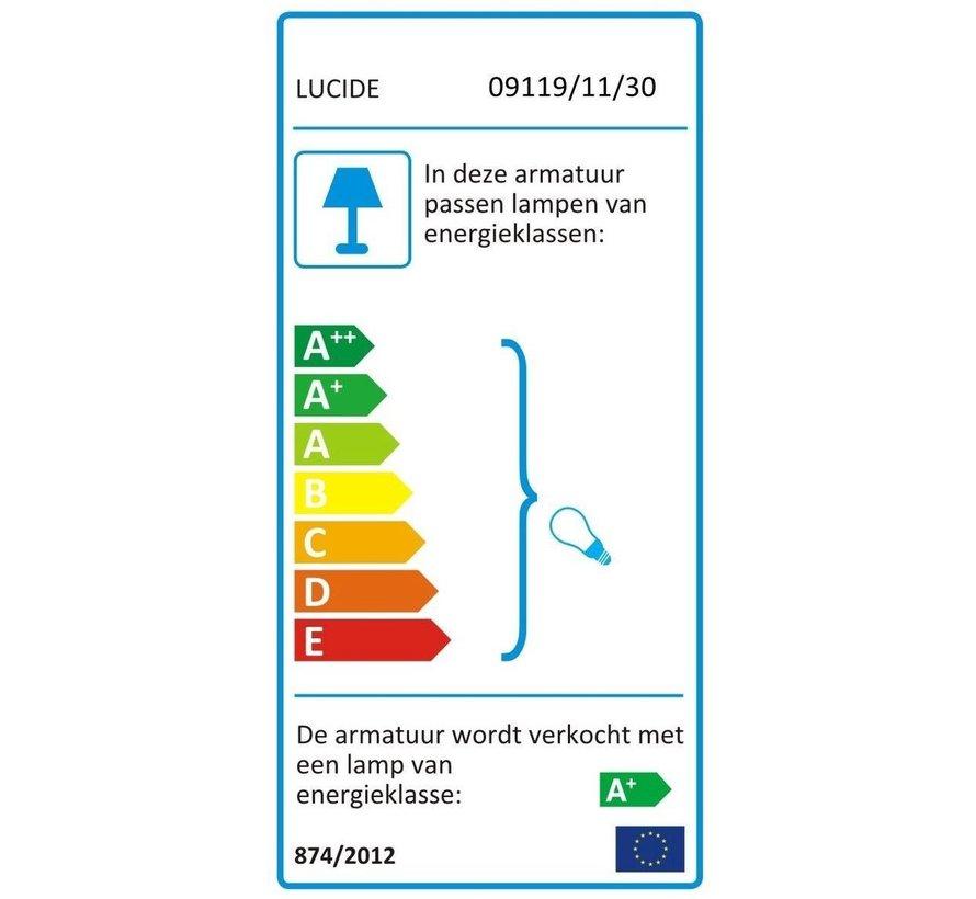 Lucide XIRAX Plafondspot - LED Dim to warm - GU10 - 2x5W 2200K/3000K - Zwart