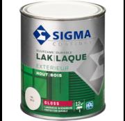 Sigma Sigma Lak Exterieur puurwit Hoogglans RAL 9010 750ml