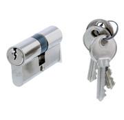 Nemef Nemef cilinder 91260 - Met 3 sleutels - In zichtverpakking - 1 cilinder in verpakking