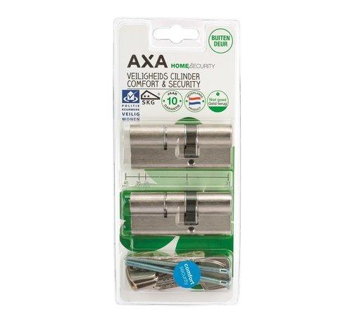 AXA AXA Dubbele veiligheidscilinder (2x) Comfort Security verlengd 30-45