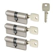 M&C M&C Casa 3 cilinders 30/30 met 5 sleutels 30/30 SKG**