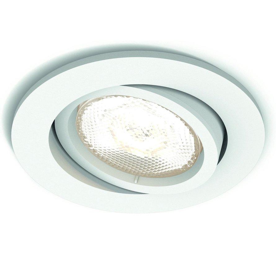 Philips Massive Nicole Inbouwspot - 1 Lichtpunt - Wit - 1 x 1415lm