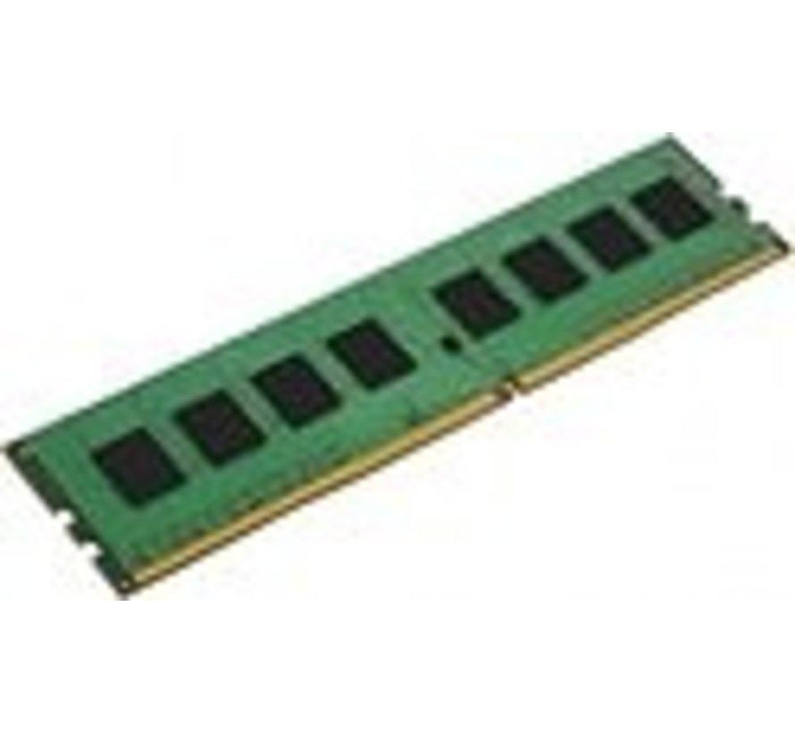 Kingston ValueRAM - DDR4 - 8 GB - DIMM 288-PIN - 2666 MHz / PC4-21300 - CL19 - 1.2 V - niet-gebufferd - niet-ECC