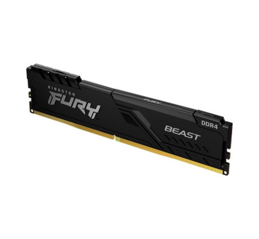 Kingston FURY Beast 16 GB (2x8 GB) 3200 MHz DDR4 CL16 Desktop Memory Kit van 2