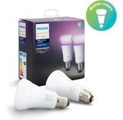 Philips Philips Hue E27 - White and colorAmbiance - 2-pack