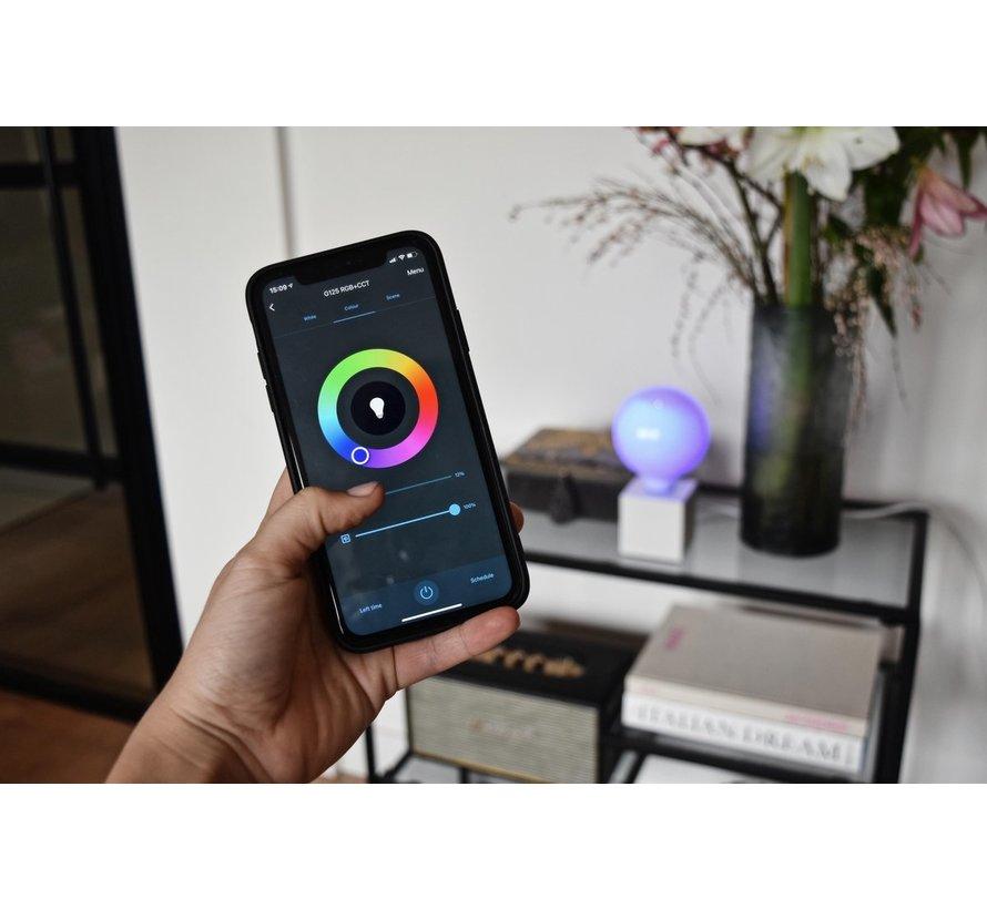 Calex Smart RGB+CCT E27 Led Lamp - Dimbaar - 8.5W