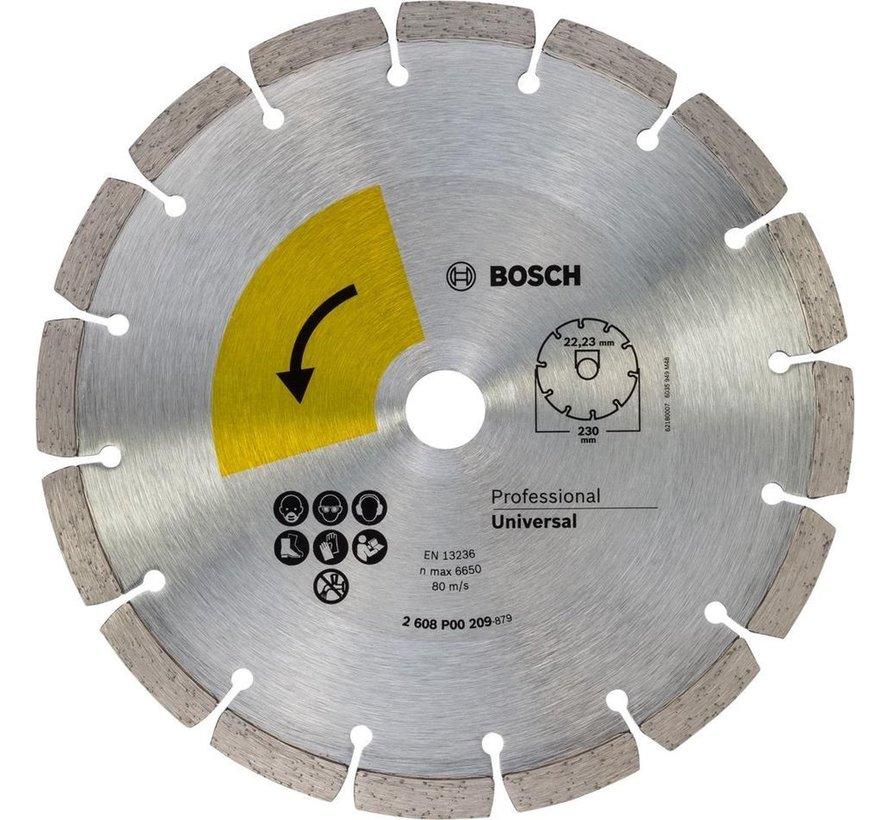 Bosch Profiline diamantschijf universal top, 230mm