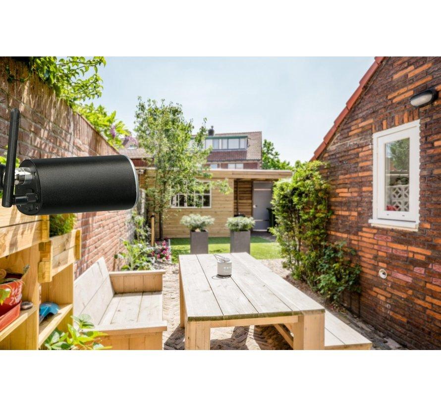 Alecto DVC216IP - Wifi camera voor buiten - Zwart