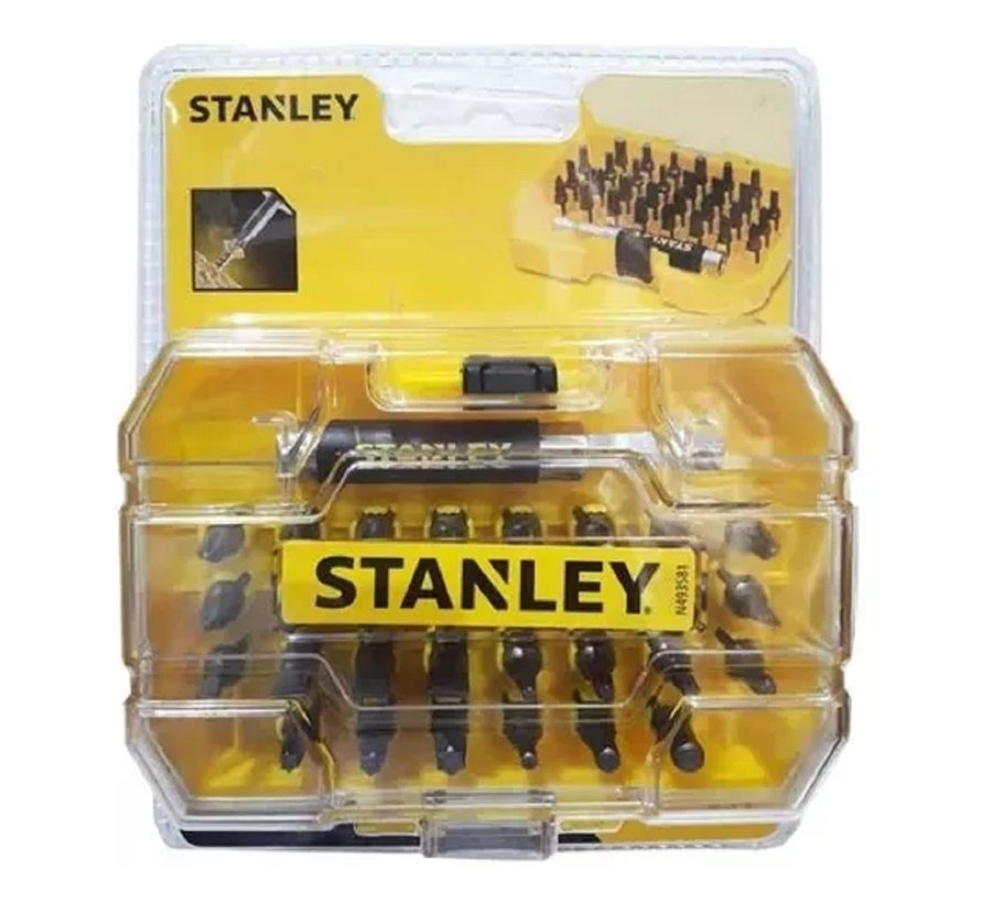 Stanley boor- en schroevenbitset – 31 stuks