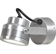 Konstsmide Konstsmide Monza LED 6x1W - Wandspot zwenkbaar 19cm - 230V - 3000K -zilver