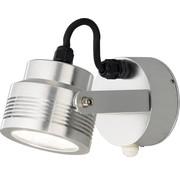 Konstsmide Konstsmide - Monza LED 6x1W wandspot  19cm bwm 230V 3000K - zilver